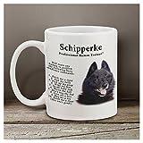 Schipperke 11 oz. Coffee Mug-Tranier