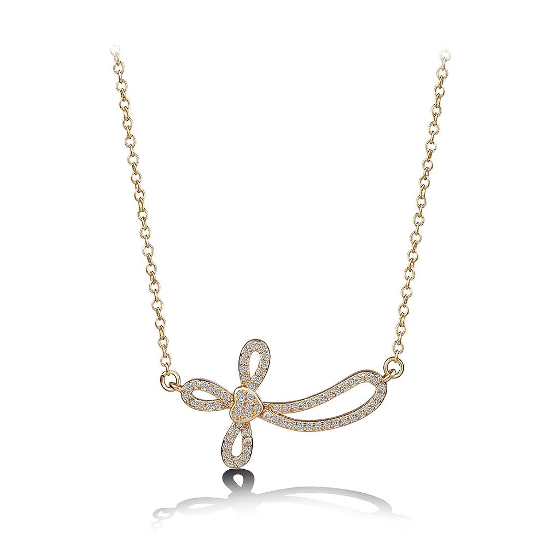 Xuping Fashion - Colgante de cruz para mujer con cadena para regalo de Halloween, día de la madre