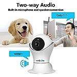 VINSION HD 1080p Pet Camera,Dog Camera 360° Pet Monitor Indoor Cat Camera with Night Vision and Two Way Audio 10