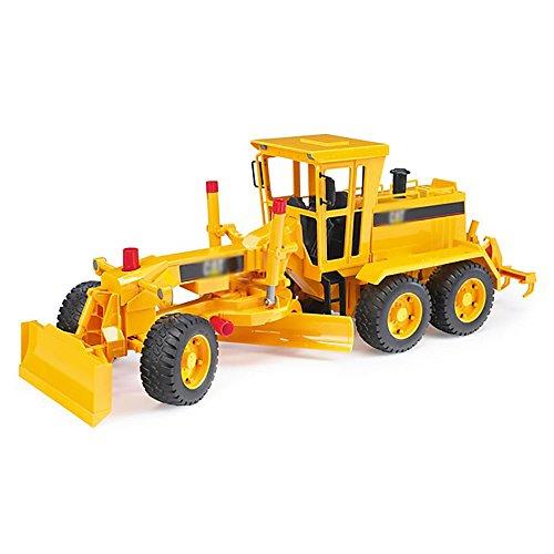 Caterpillar Motor Grader (WALLER PAA Toys 1:16 Scale Model Construction Vehicle Caterpillar Motor Grader)