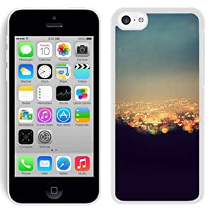 Unique Designed Cover Case For iPhone 5C With Bokeh Night City Ew Light Wallpaper (2) Phone Case Kimberly Kurzendoerfer