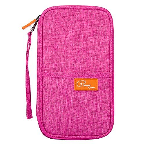 Organizer Wallet (RFID Travel Passport Wallet, Family Passport Holder, Waterproof Document Organizer by FLYNOVA| Travel Accessories for Credit Cards etc.)