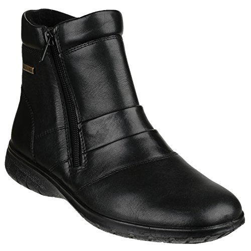 Up Ledbury Ladies Waterproof Leather Womens Zip Ankle Boots Black Cotswold xOwqYPCC