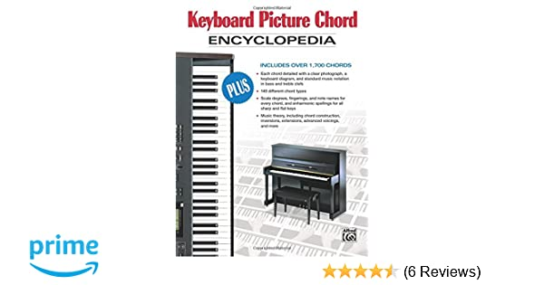 Keyboard Picture Chord Encyclopedia Includes Over 1 700 Chords