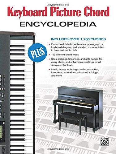Keyboard Picture Chord Encyclopedia: Includes over 1,700 - Diagrams Chord Keyboard