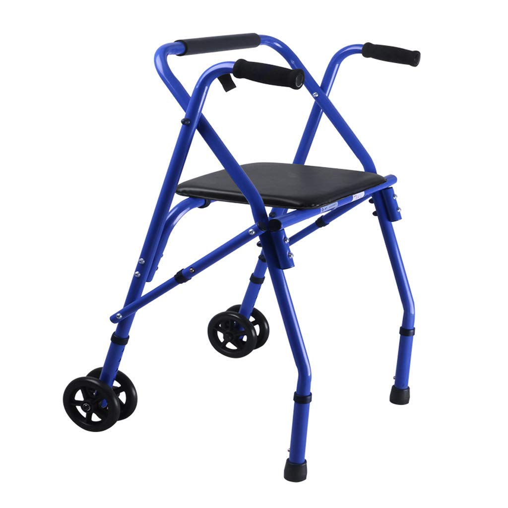 LHNLY-Andadores Andador Plegable con bariátrica para Trabajo ...