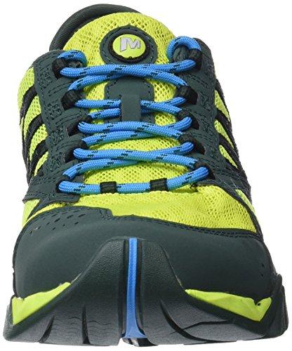 Surge Chaussures Aquatiques Crest Sports Homme pour Vert Vert Citron Tetrex Merrell 5Zq1wgn