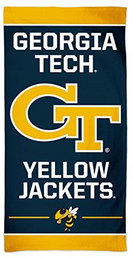 WinCraft Georgia Tech Yellow Jackets Beach Towel - Multi