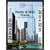 Mainstays 24x32 Trendsetter Poster and Picture Frame, Black