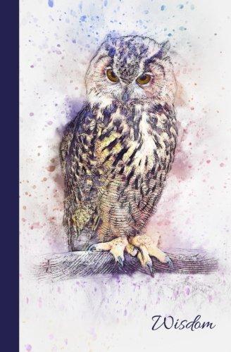 Wisdom: Long Eared Owl Journal/Notebook 5.25