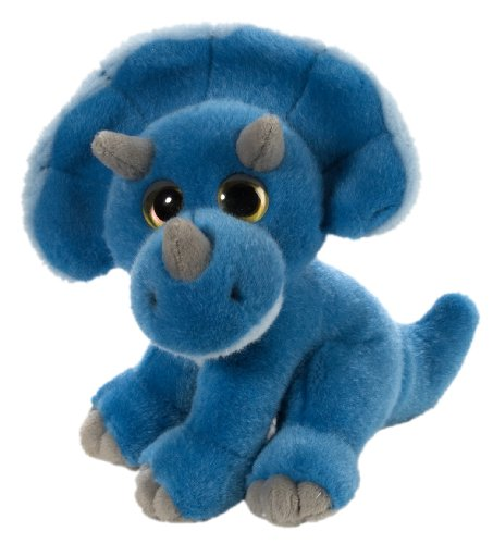 Wild Republic Triceratops Plush, Dinosaur Stuffed Animal, Plush Toy, Gifts For Kids, Wild Watchers 7 Inches