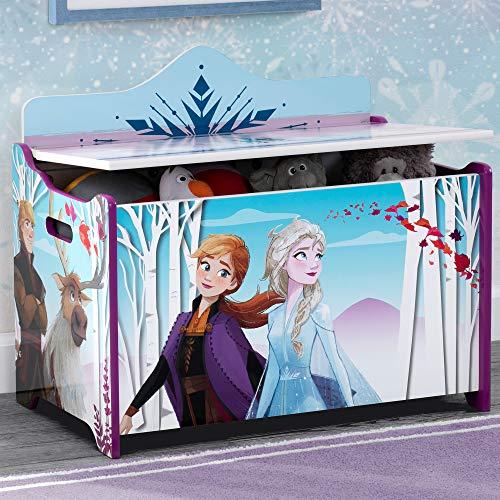 Delta Children Deluxe Toy Box, Disney Frozen II