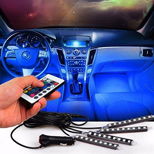 LightInTheBox LED Gadgets LED Night Light Car Chargers Remote Control Black Light Bar by LightInTheBox