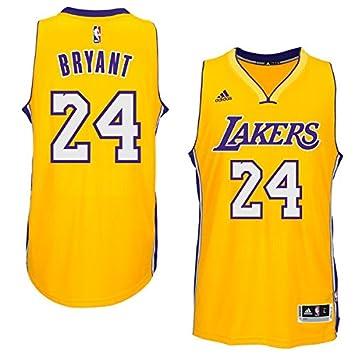Camiseta Swingman de Kobe Bryant de Los Angeles Lakers, NBA, para jugador polivalente, amarillo: Amazon.es: Deportes y aire libre
