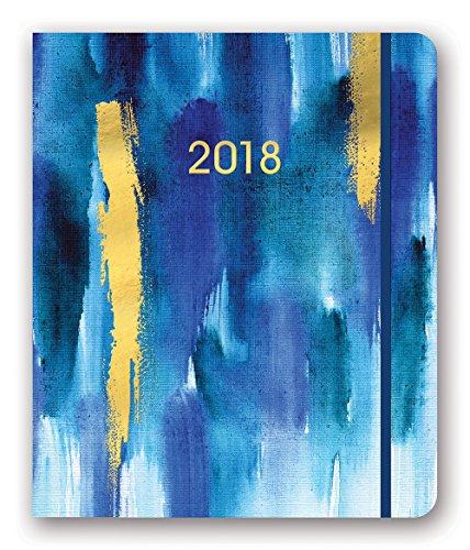 Orange Circle Studio 2018 Hidden Spiral Agenda  Aug  2017   Dec  2018  Gold Foil Bluette