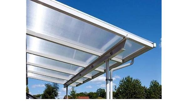 überdachung Terraza montar 8 x 4 m planchas y perfiles para bajo ...