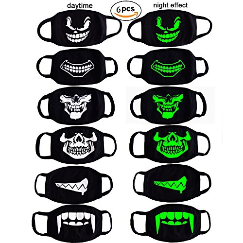 CIKIShield Ayo and Teo Face Mask for Boys Kids,Cotton Rave Muffle Mask Anti Dust Face Mask Mouth