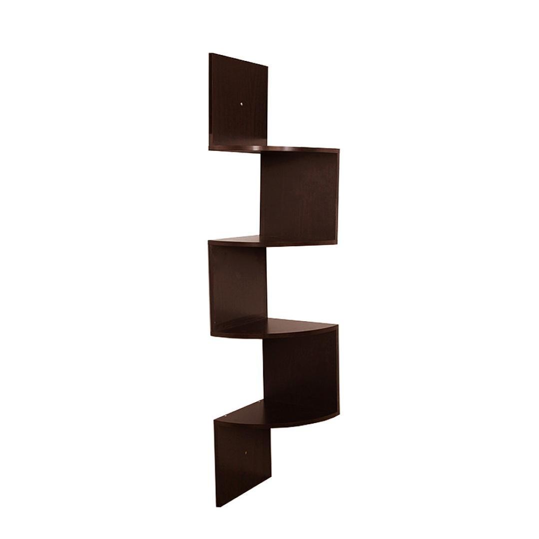 floating corner shelves set of  keepwin  tier corner wall mount  - floatingcornershelvessetofkeepwin