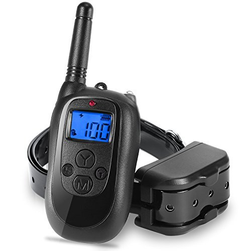 ALTMAN Waterproof Dog Shock Collar 1000 ft Remote Training Rechargeable and IPX 7