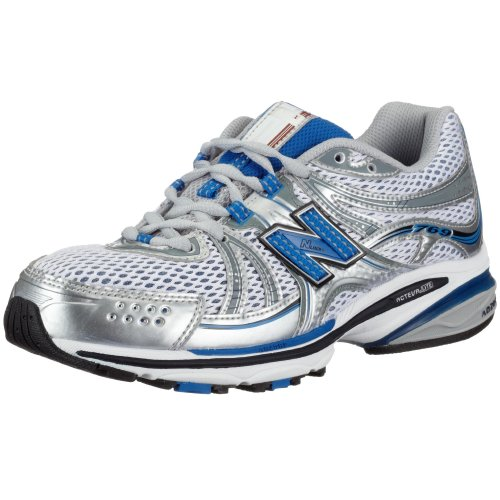 New Balance Men's MR769 NBx Stability Running Shoe,Silver/Blue,8.5 D Nbx Stability Running Shoe