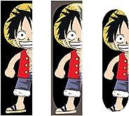 Anime Cartoon Characters Skateboard Grip Tape Sheet 33″x9″, Bubble Free Waterproof Scooter Long Board Griptape