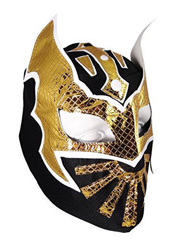 SIN CARA Youth Lucha Libre Wrestling Mask - KIDS Costume Wear - Black