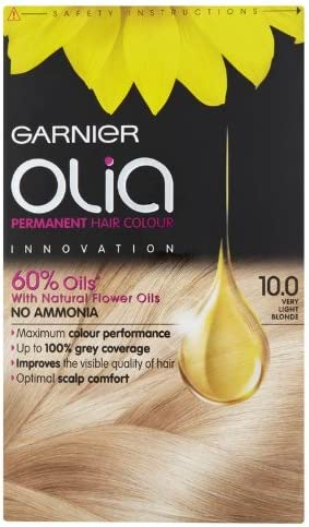 Garnier Olia Permanent Hair Colour 10.0 Very Light Blonde