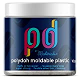 Polydoh moldable plastic 454g / 16oz (white/natural) [like polymorph friendly plastic plastimake]