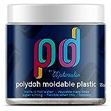 Polydoh moldable plastic 16oz tub (natural) [polymorph, plastimake]