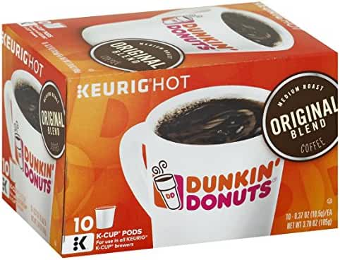 Dunkin' Donuts Coffee for K-cup Pods, Original Blend, 60 Count