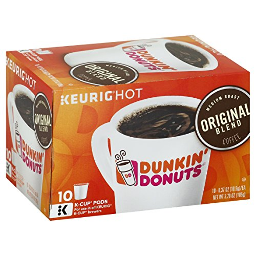 Dunkin' Donuts Keurig Original Blend K-Cup Coffee, 10 ct