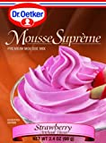 Dr. Oetker Strawberry Mousse, 2.4-Ounce (Pack of 6)