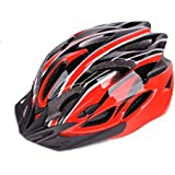 Cycling Bike Bicycle Helmet Mountain Bike Bicycle Accessories - black/red