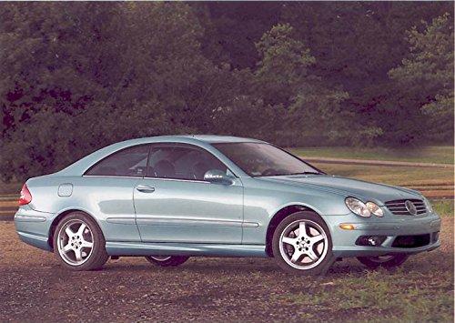 Mercedes Clk500 Coupe - 2003 Mercedes Benz CLK500 Coupe Factory Photo