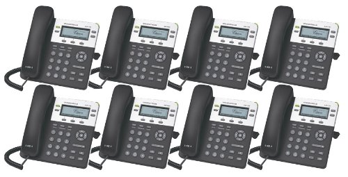 Bundle of 8 Grandstream GXP1450 Enterprise HD IP Telephone