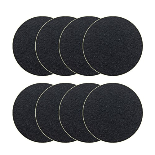 8 Pack Kitchen Compost Bin Charcoal Filter Replacements, Compost Pail Replacement Carbon Filters 7.25 inch, Round ()