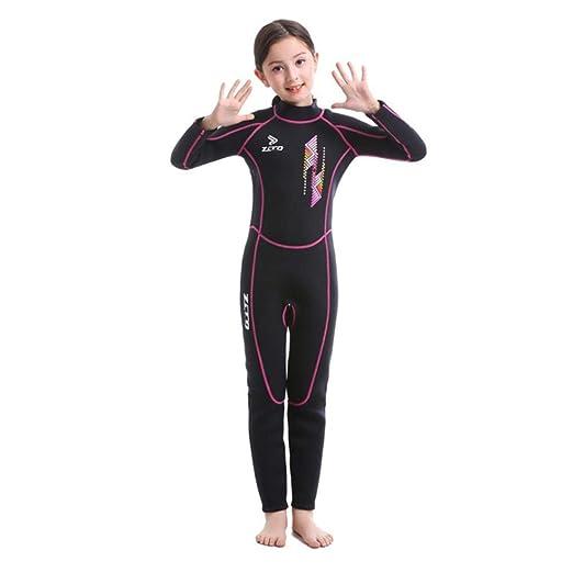 Eternitry Kids One Piece Swimsuit 3MM Traje de Buceo rápido ...