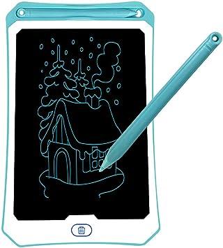 3人の4 5 6 7歳女の子の男の子のためのLCDライティングタブレット、8.5InchデジタルEwriter電子グラフィック描画タブレット消去可能なポータブル落書きボードガールズギフトおもちゃ