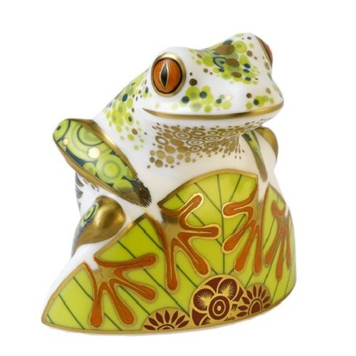 Royal Crown Derby FROG - SKIP