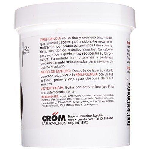 Toque Magico Emergencia 16OZ/453ML - tratamiento intensivo para el cabello, mascarilla keratina para cabello seco, teñido, con permanente, decolorado, ...
