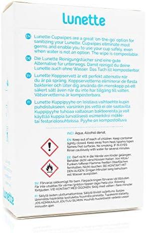 Lunette Toallitas de limpieza (10 unidades)