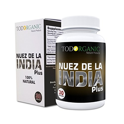 Nuez de Brazil Plus 100% Authentic from Brasil Seed All Natural Supplement Pure Brazilian Nut Plus la original para adelgazar