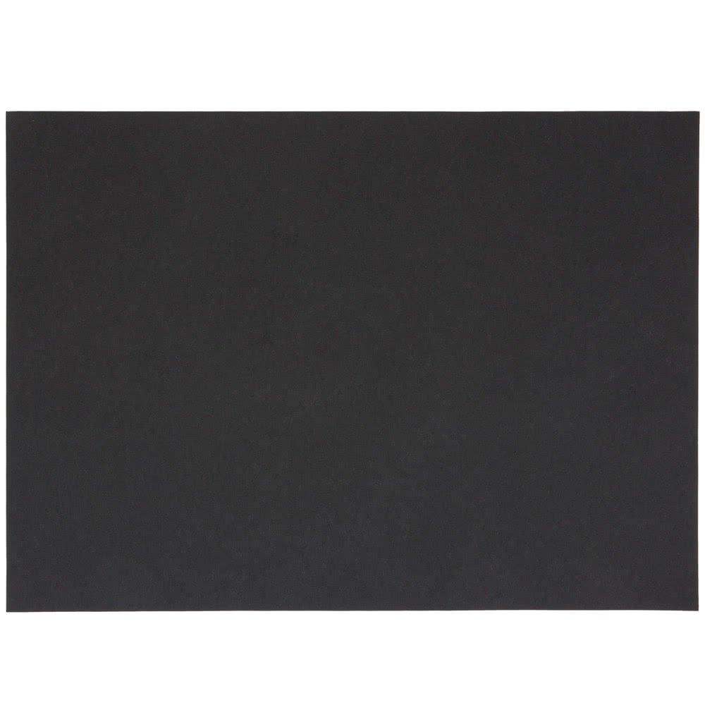 BlackTreat Steak Paper Sheets 1000//Case 10 x 14 40# by TableTop King