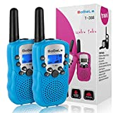 Bobela Cool Walkie-Talkie for Men Camping - T-388 Bestcompact Walky-Talky with Flashlight