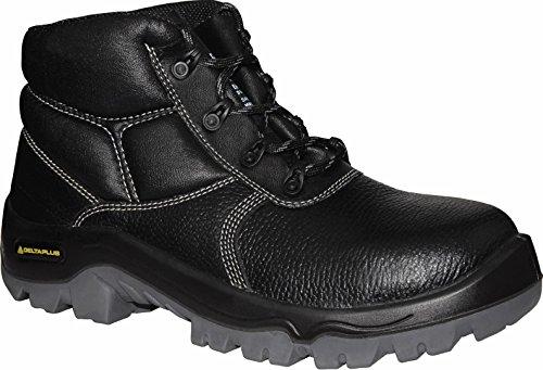 Delta plus calzado - Juego bota piel proton s1 polos negro talla 37(1par)