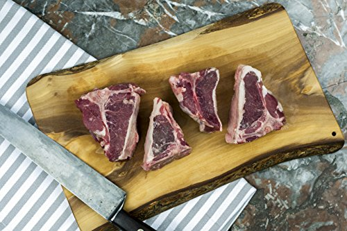 (American Lamb Loin Chops - Humanely Raised, Animal Welfare Approved)