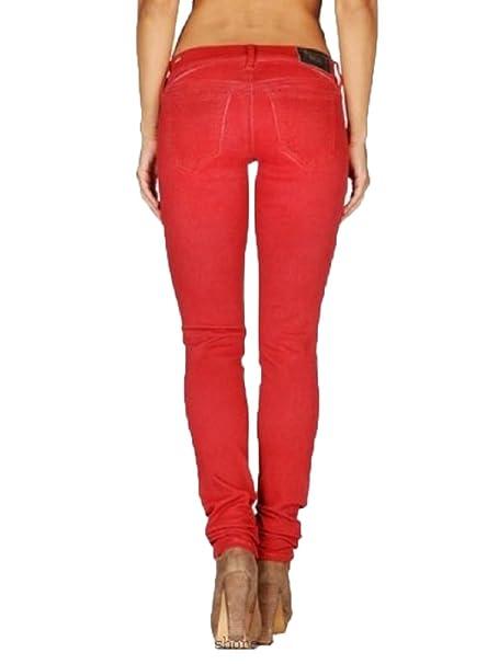 Amazon.com: Diesel Women's Getlegg 0661B Skinny Stretch Jeans (27W,  Mahogany): Clothing