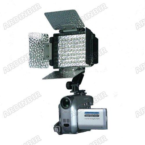 LED Video Light Lite for Canon VIXIA XH-A1, A1S, G1, XL-1S, XL1, XL2, XL-H1, GL2, GL1, XM2, XM1, FS300, FS200, FS100, FS10, FS22, FS11, FS21, DC20, DC50, DC40, DC22 - Canon Xh A1 Accessories