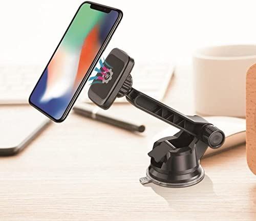 New Rectangle Head Dashboard Mount WizGear Universal Magnetic Car Mount Holder Windshield Mount and Dashboard Mount Holder for Cell Phones and Tablets with Long Adjustable Arm