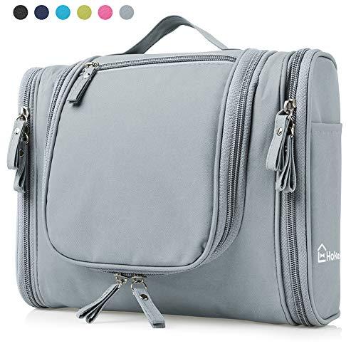 Heavy Duty Waterproof Hanging Toiletry Bag - Travel Cosmetic Makeup Bag  Organizer for Women   Shaving 4ec508b532